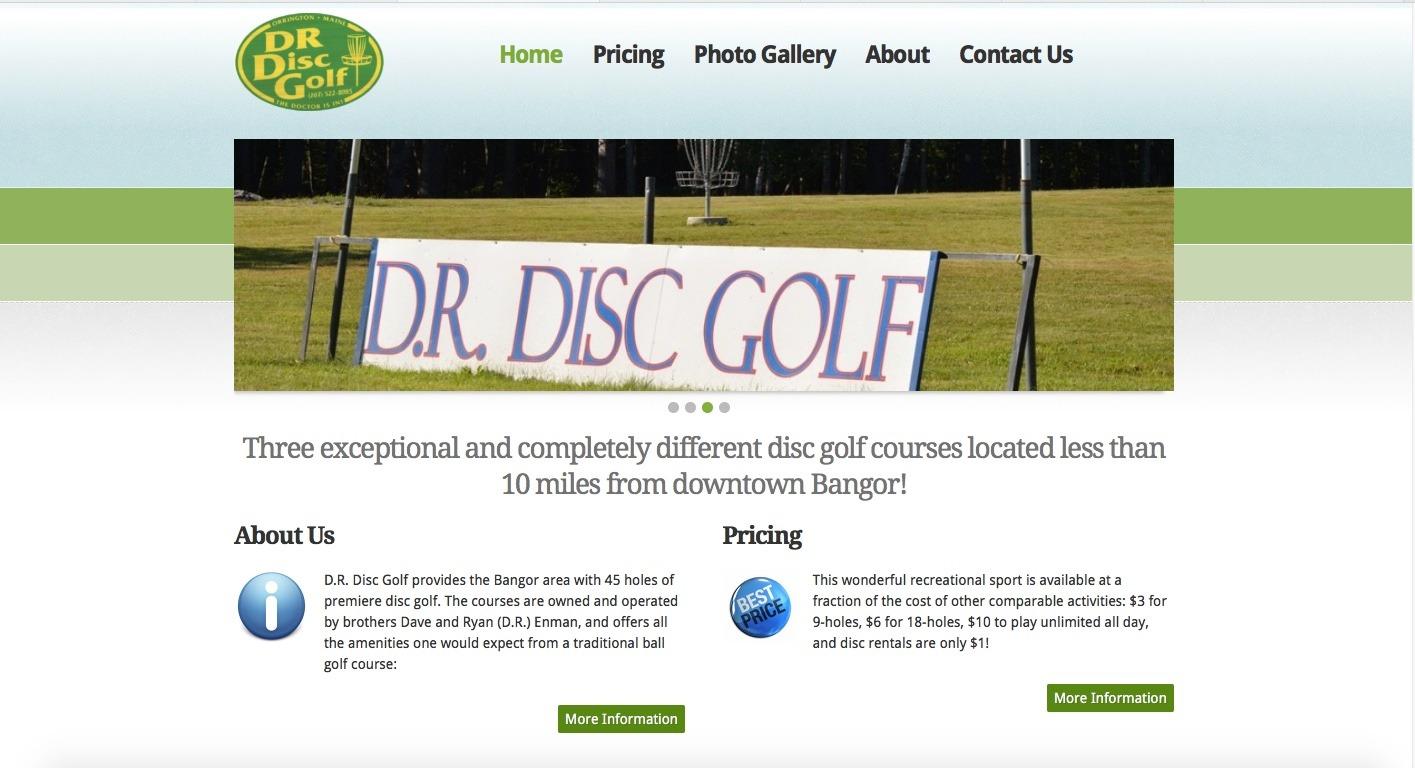DR Disc Golf